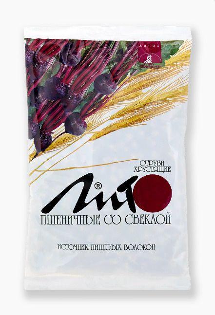 Отруби пшеничные хрустящие Лито с кальцием и свеклой, гранулы, 200 г, 1шт.