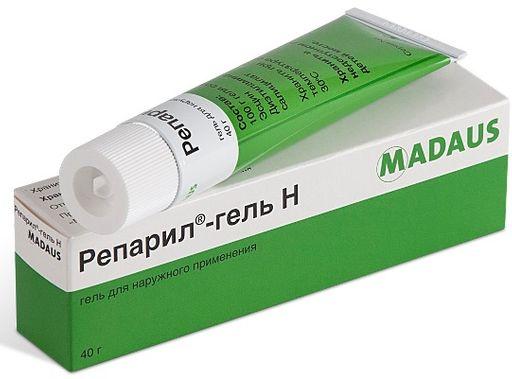Репарил-гель H, гель для наружного применения, 40 г, 1шт.