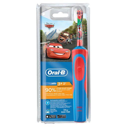Электрическая зубная щетка для детей Oral-B Stages Power cars, щетка зубная, 1шт.