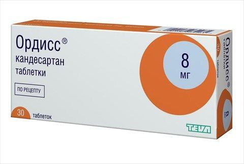 Ордисс, 8 мг, таблетки, 30шт.