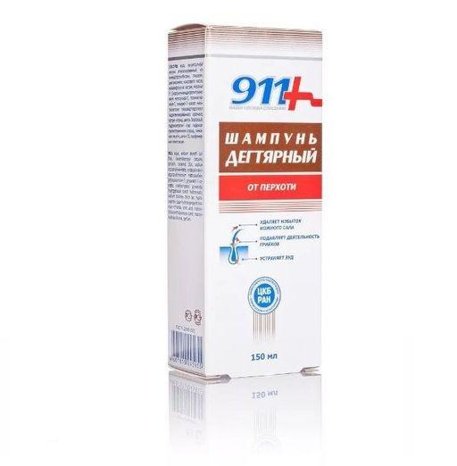911 шампунь Дегтярный, шампунь, 150 мл, 1шт.