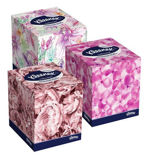 Kleenex Collection Салфетки в коробке, салфетки, 100шт.