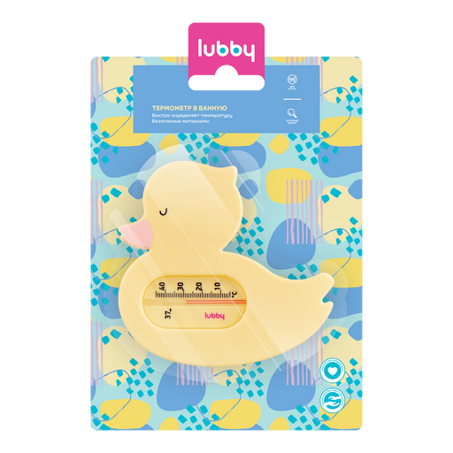 Lubby Термометр для воды, 1шт.