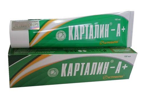 Карталин-А+, крем, 100 мл, 1шт.