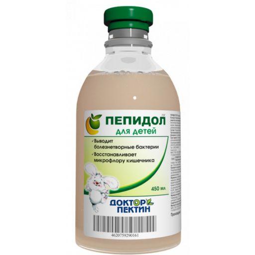 Пепидол Пэг для детей, 3%, раствор для приема внутрь, 450 мл, 1шт.