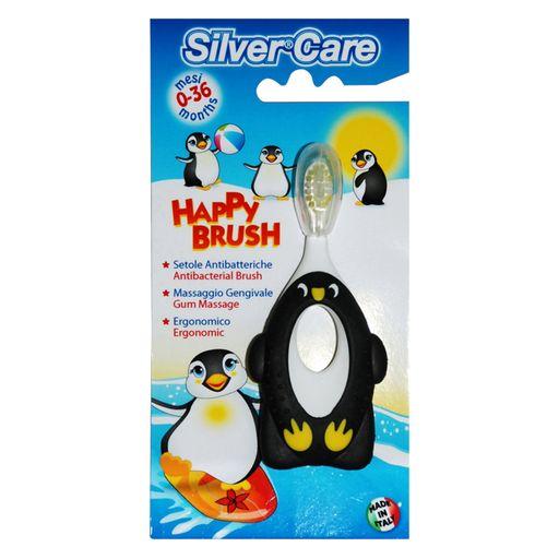 Silver care Happy Brush щетка зубная детская 6-36 месяцев, щетка зубная, 1шт.