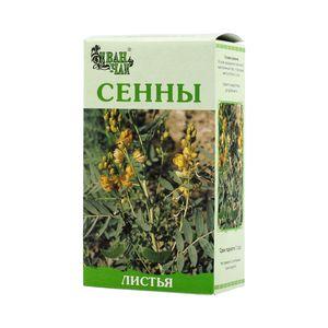Сенны листья, сырье растительное измельченное, 50 г, 1шт.