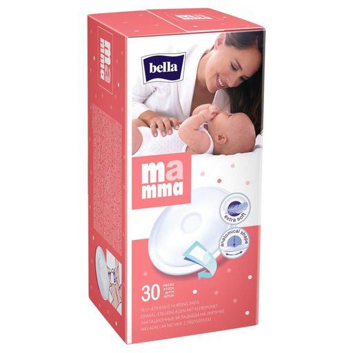 Bella Mamma вкладыши в бюстгальтер, с липким креплением, 30шт.