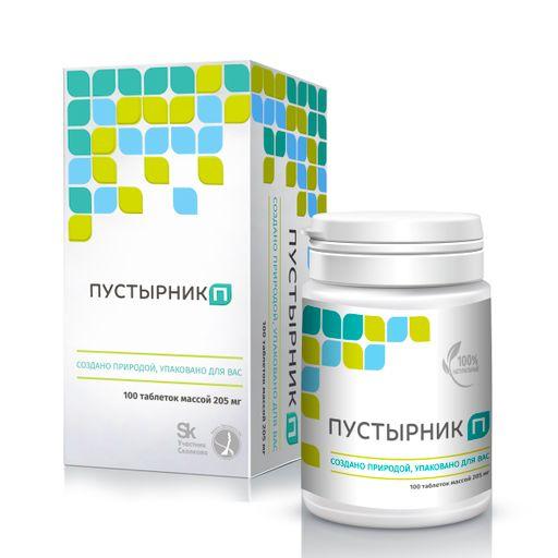 Пустырник П, 205 мг, таблетки, 100шт.