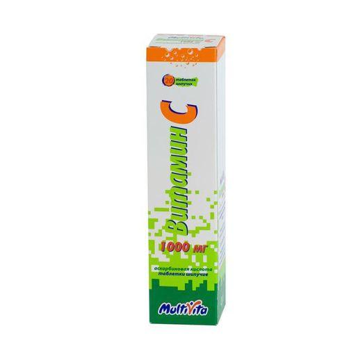 Витамин C, 1000 мг, таблетки шипучие, 20шт.