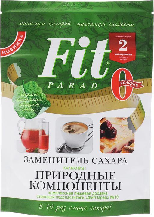 Fit Parad Заменитель сахара, 10, 200 г, 1шт.