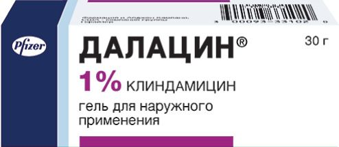 Далацин (гель), 1%, гель для наружного применения, 30 г, 1шт.