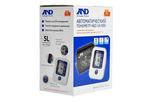 Тонометр автоматический AND UA-888, 1шт.