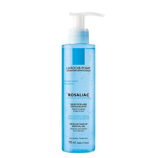 La Roche-Posay Rosaliac мицеллярный гель для кожи лица и век, гель для умывания, для кожи, склонной к покраснению, 195 мл, 1шт.