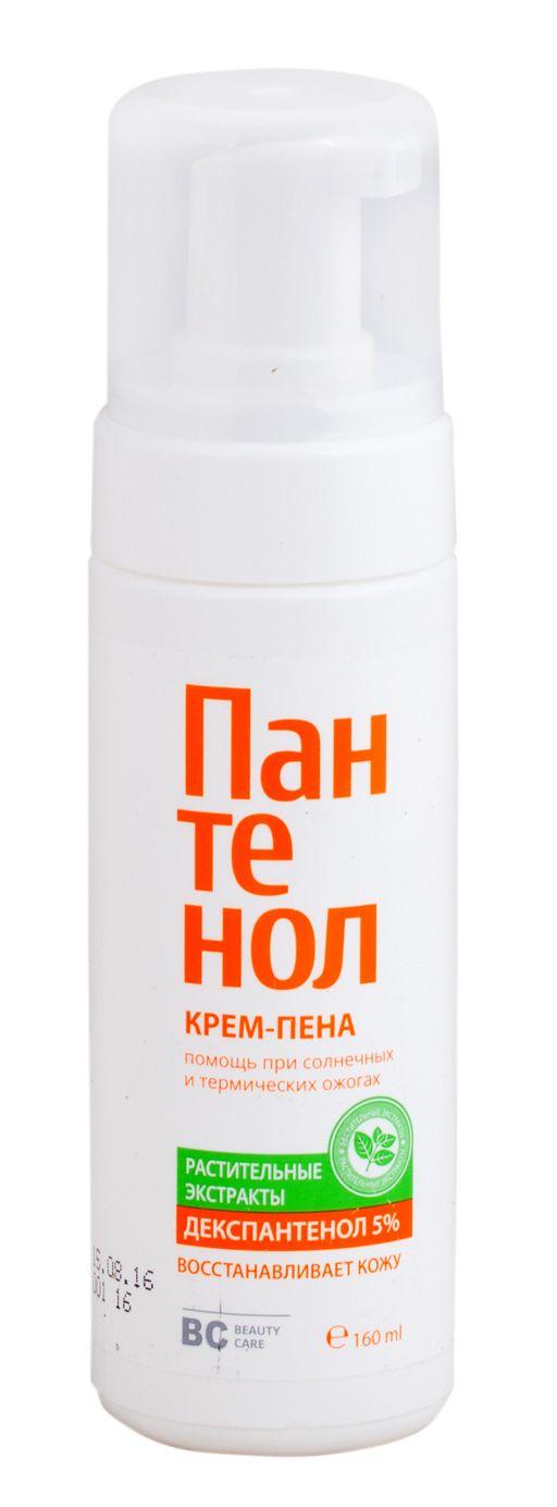 BC Пантенол крем-пена для лица и тела, крем-пена, 160 мл, 1шт.