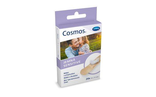 Cosmos Sensitive Пластырь, 19х72 мм, пластырь медицинский, для чувствительной кожи, 20шт.