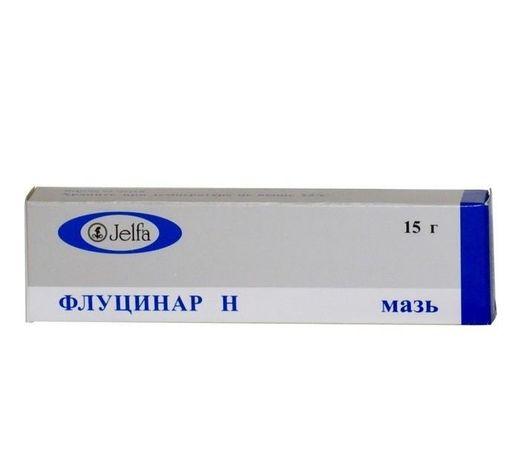 Флуцинар Н, мазь для наружного применения, 15 г, 1шт.