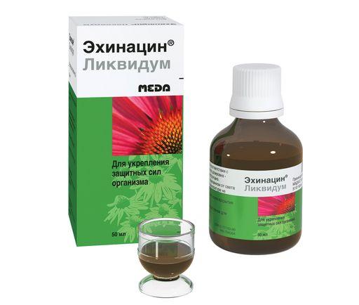 Эхинацин ликвидум, раствор для приема внутрь, 50 мл, 1шт.