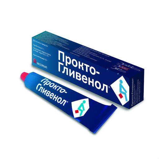 Прокто-Гливенол, крем ректальный, 30 г, 1шт.