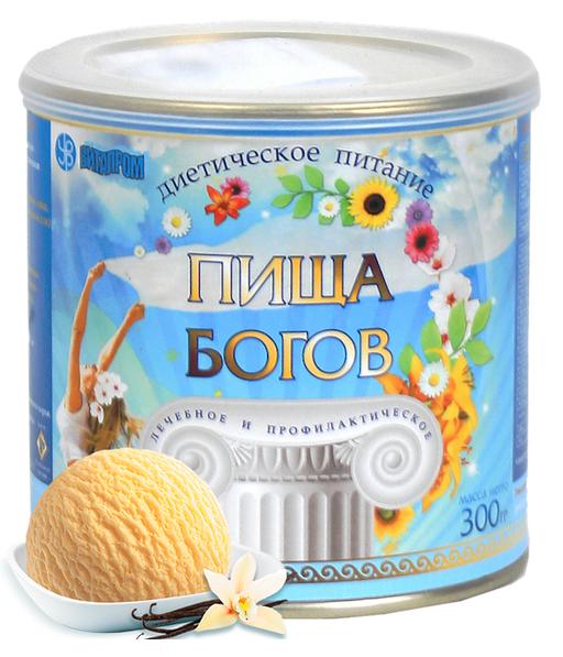 Пища Богов Диетическое питание, ваниль, 300 г, 1шт.