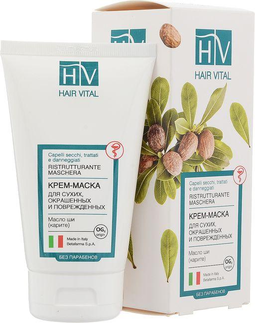 Hair Vital Крем-маска для поврежденных волос, маска для волос, 150 мл, 1шт.