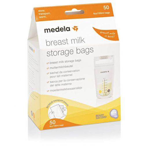 Medela Пакеты для хранения грудного молока, одноразовый (-ая, -ое, -ые), 180 мл, 25шт.