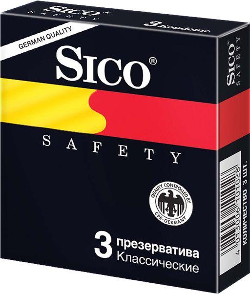 Презервативы Sico Safety, презерватив, 3шт.