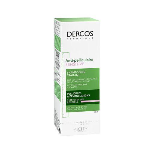 Vichy Dercos шампунь против перхоти для чувствительной кожи головы, шампунь, 200 мл, 1шт.
