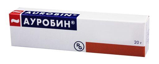 Ауробин, мазь для ректального и наружного применения, 20 г, 1шт.