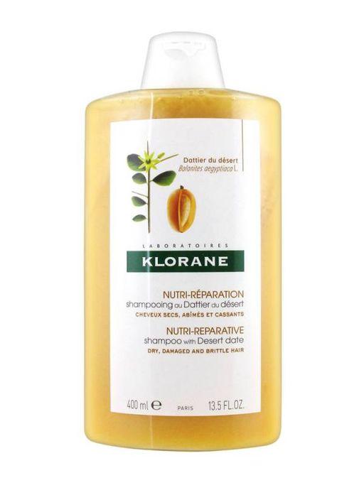 Klorane Шампунь питательный с маслом финика пустынного, шампунь, 400 мл, 1шт.