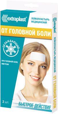 Extraplast Пластырь от головной боли, пластырь, 2шт.