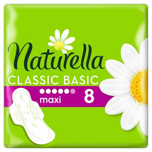 Naturella classic basic maxi прокладки женские гигиенические, прокладки гигиенические, 8шт.