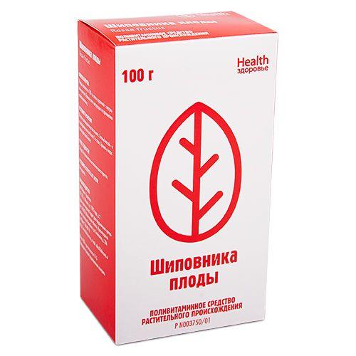Шиповника плоды, лекарственное растительное сырье, 100 г, 1шт.