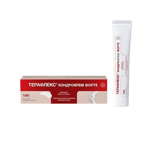 Терафлекс Хондрокрем Форте, 1% + 5%, крем для наружного применения, 100 г, 1шт.