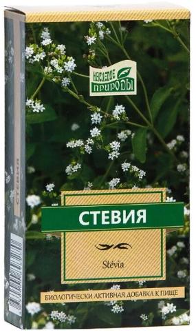Наследие природы Стевия, фиточай, 50 г, 1шт.