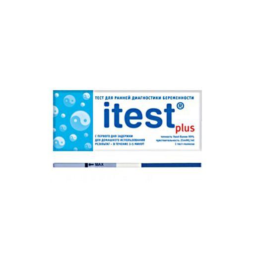 Itest plus Тест на беременность, 1шт.