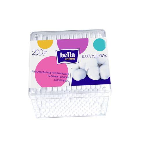 Bella Cotton Ватные палочки, палочки, 200шт.