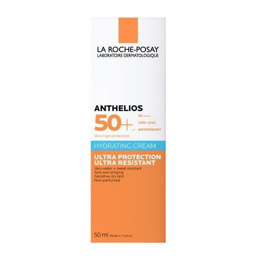 La Roche-Posay Anthelios SPF50+ крем увлажняющий солнцезащитный, крем, для нормальной и сухой кожи, 50 мл, 1шт.