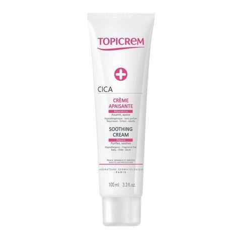 Topicrem CICA Крем успокаивающий восстанавливающий, крем для тела, 100 мл, 1шт.