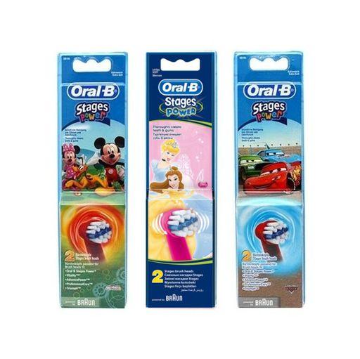 Насадки для электрической зубной щетки Oral-B Stages Power, в ассортименте, 2шт.