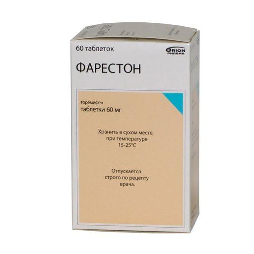 Фарестон, 60 мг, таблетки, 60шт.