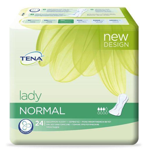 Прокладки урологические Tena Lady Normal, 3 капли, 24шт.
