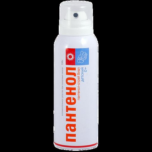 Пантенол-спрей Виалайн бальзам для детей, аэрозоль, 130 г, 1шт.