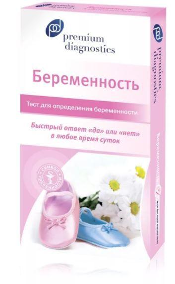 Premium diagnostics Тест на беременность, 1шт.