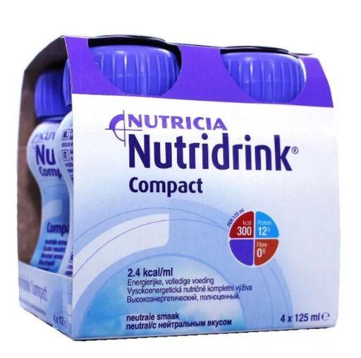 Nutridrink compact protein, жидкость для приема внутрь, с нейтральным вкусом, 125 мл, 4шт.