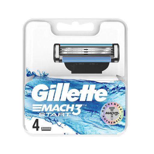 Gillette Mach 3 Start Кассеты, 4шт.