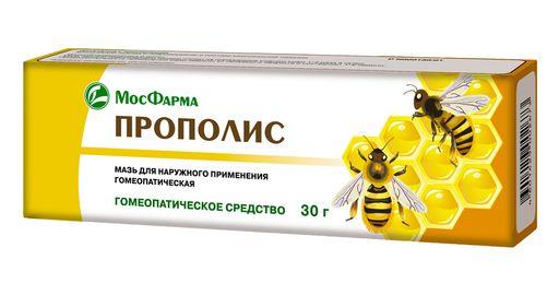 Прополис, мазь для наружного применения гомеопатическая, 30 г, 1шт.