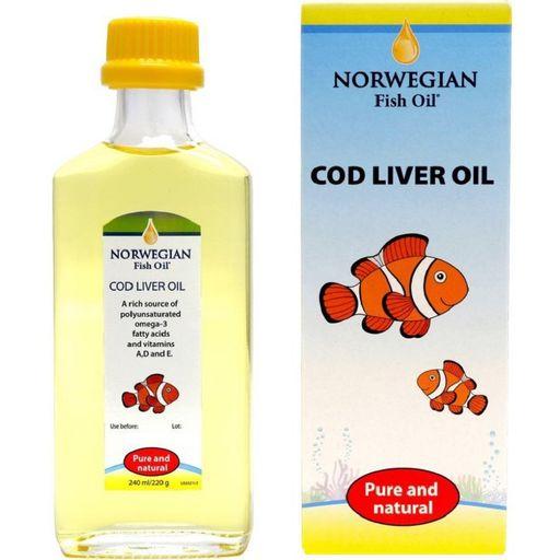 НФО Омега-3 жир печени трески, раствор для приема внутрь в масле, 240 мл, 1шт.