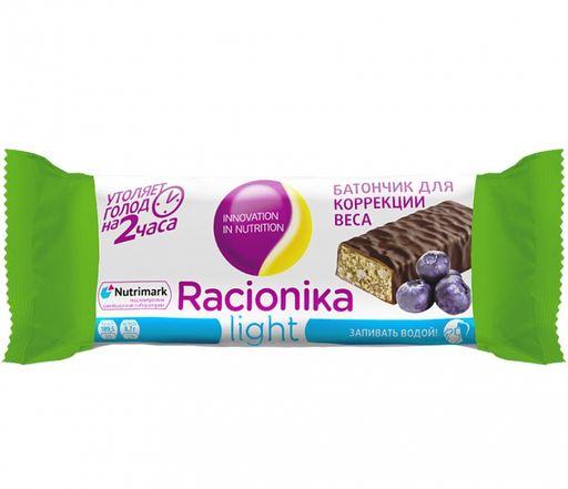 Racionika Light батончик, со вкусом черники, 45 г, 1шт.