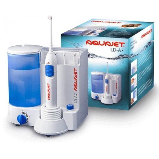 Aquajet Ирригатор полости рта LD-А7, 4 режима работы, 4 насадки, 500 мл, 1шт.